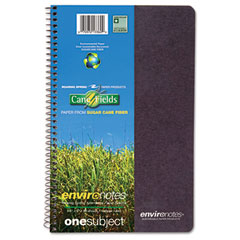 Roaring spring - environotes sugarcane notebook, 9 1/2 x 6, 1 subj, 80 sheets, college, assorted, sold as 1 ea