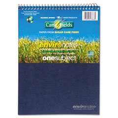 Roaring spring - environotes sugarcane notebook, 8 1/2 x 11 1/2, flipper, 80 sheets, college rule, sold as 1 ea