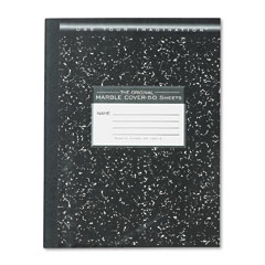 Roaring spring - marble cover composition book, wide rule, 9-3/4 x 7-1/2, 50 pages, sold as 1 ea