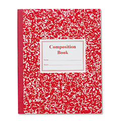 Roaring spring - grade school ruled composition book, 9-3/4 x 7-3/4, we/red, 50 pages, sold as 1 ea