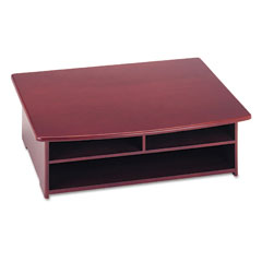 Rolodex - wood tones printer stand, 21 x 18, mahogany, sold as 1 ea