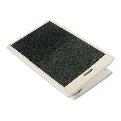 RCP 4603 Footease Adjustable Footrest, Platinum, 19W X 13D X 3H