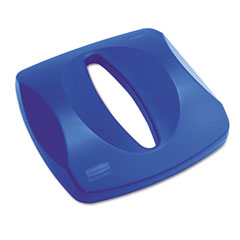 RCP 269000BE Untouchable Recycling Tops, 16 X 3 1/4, Blue