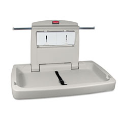 RCP 781888 Sturdy Station 2 Baby Changing Table, Platinum