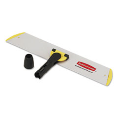 RCP Q560 Hygen Quick Connect Single-Side Frame/Wet/Dry Mops,18W X 3 1/2D, Aluminum,Yellow