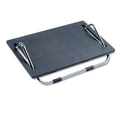 Safco 2105 Ergo-Comfort Adjustable Footrest, 18-1/2W X 11-1/2D X 5H, Black