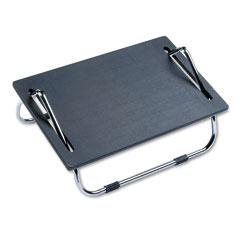 Safco 2106 Ergo-Comfort Adjustable Footrest, 18-1/2W X 11-1/2D X 8H, Black