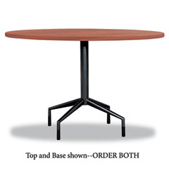 Safco - rsvp series round table top, laminate, 42-inch diameter, cherry, sold as 1 ea