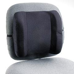 Safco 71491 Remedease High Profile Backrest, 12-3/4W X 4D X 13H, Black