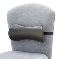 Safco 7154BL Lumbar Support Memory Foam Backrest, 14-1/2W X 3-3/4D X 6-3/4H, Black