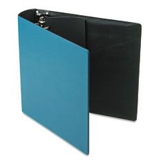 Samsill - top performance dxl locking d-ring binder with label holder, 2-inch capacity, teal, sold as 1 ea