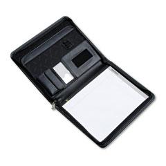 Samsill 70850 Pad Holder Cover, Nylon, Zipper, Organizer Pockets, Charcoal