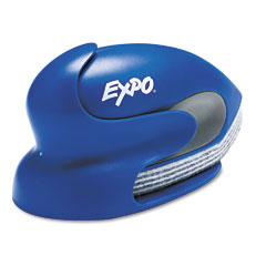 Expo - dry erase precision point eraser with replaceable pad, felt, 4.5-inchw x 9.1-inchd, sold as 1 ea