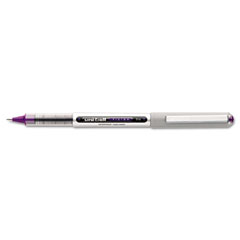 Uni-ball - vision roller ball stick water-proof pen, majestic purple ink, fine, dozen, sold as 1 dz