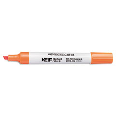Sanford Ink 64325 4009 Highlighter, Chisel Tip, Fluorescent Orange