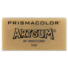 Prismacolor - artgum non-abrasive eraser, sold as 1 ea