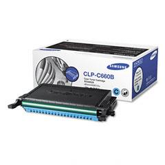 Samsung CLP-C660B Clpc660B High-Yield Toner, 5000 Page-Yield, Cyan