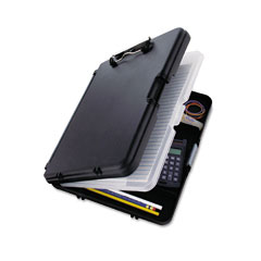 "Saunders 00552 Workmate Ii Storage Clipboard, 1/2"" Capacity, Holds 8-1/2W X 12H, Black/Charcoal"