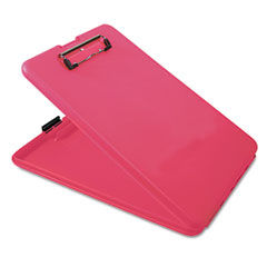 Saunders - slimmate portable desktop, 1-inch capacity, holds 8 1/2w x 12h, pink, sold as 1 ea