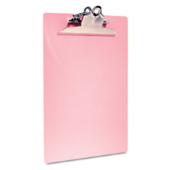 Saunders - slimmate recycled portable desktop, 1-inch capacity, holds 8 1/2w x 12h, pink, sold as 1 ea