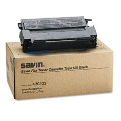 Savin 430223 430223 Toner, 4500 Page-Yield, Black