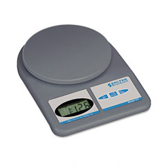 Salter brecknell - electronic weight-only utility scale, 11lb capacity, 5-3/4 platform, sold as 1 ea