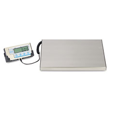 Salter brecknell - lps400 portable shipping scale, 400 lb capacity, 12w x 15d platform, sold as 1 ea