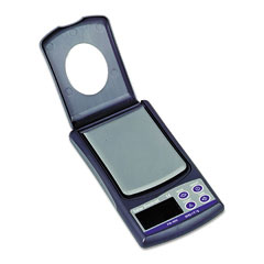 Salter brecknell - handheld mechanical utility balance scale, 500g capacity, 2-1/2 x 3 platform, sold as 1 ea