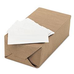 Tork - advanced dispenser napkins, single-ply, 13 x 12, white, 6000/carton, sold as 1 ct