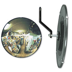 "See All N12 160 Degree Convex Security Mirror, 12"" Dia."