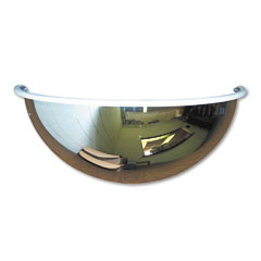 "See All PV18-180 Half-Dome Convex Security Mirror, 18"" Dia."