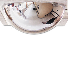 "See All PVTBAR2X2 T-Bar Dome Security Mirror, 24"" Dia."