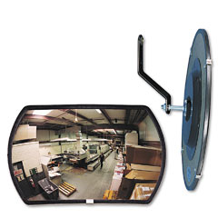 "See All RR1218 160 Degree Convex Security Mirror, 18"" W X 12"" H"