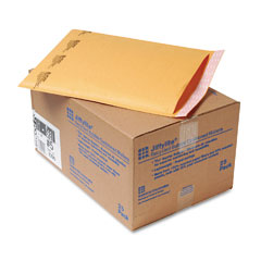 Sealed Air 10190 Jiffylite Self-Seal Mailer, Side Seam, #5, 10 1/2 X 16, Golden Brown, 25/Carton