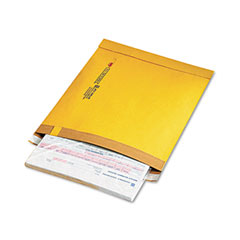 Sealed Air 15817 Utility Self-Seal Mailer, Side Seam, #5, 10 1/2X14 3/4, Golden Brown, 100/Carton