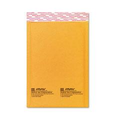 Sealed Air 16070 Jiffylite Self-Seal Mailer, Side Seam, #0, 6 X 10, Golden Brown, 10/Pack