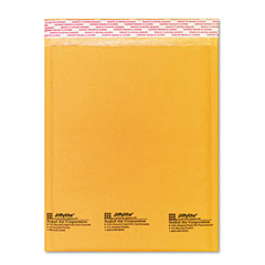 Sealed Air 16161 Jiffylite Self-Seal Mailer, Side Seam, #2, 8 1/2 X 12, Golden Brown, 10/Pack