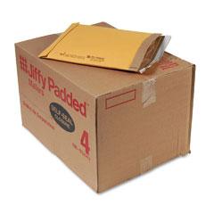 Sealed Air 85985 Jiffy Padded Self-Seal Mailer, #4, 9 1/2 X 14 1/2, Golden Brown, 100/Carton
