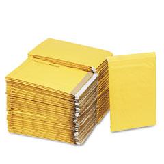 Sealed Air 86006 Jiffy Padded Self-Seal Mailer, Side Seam, #5, 10 1/2X16, Goldbrown, 100/Carton