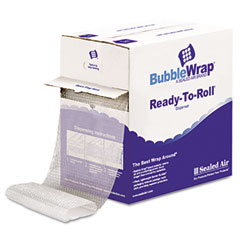 "Sealed Air 90065 Bubble Wrap, Cushion Bubble Roll, 1/2"" Thick, 12"" X 65Ft"