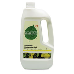 SEV 22171 Automatic Dishwasher Detergent, Gel, Lemon Scent, 42 Oz. Bottle