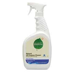 SEV 22719 Free & Clear Natural All Purpose Cleaner, 32 Oz. Spray