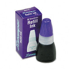 Refill Ink for Xstamper Stamps, Purple, 10ml-Bottle