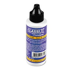 Shachihata SHA40712 Refill Ink for Classix Stamps, 2 oz Bottle, Black
