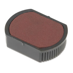 Shachihata SHA43511 P15 Self-Inking Stamp Replacement Pad, Red