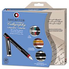 Sheaffer - calligraphy pen set, maxi kit, 4 nibs, sold as 1 ea
