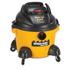 Shop-vac - right stuff wet/dry vacuum, 8 a, 19 lbs, yellow/black, sold as 1 ea