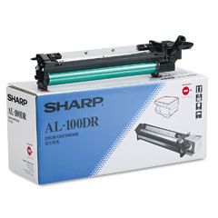 Sharp AL100DR Al100Dr Drum, Black
