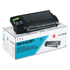 Sharp AL110TD Al110Td Toner, 4000 Page-Yield, Black