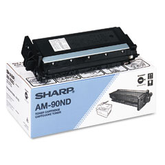 Sharp AM90ND Am90Nd Toner, 3000 Page-Yield, Black